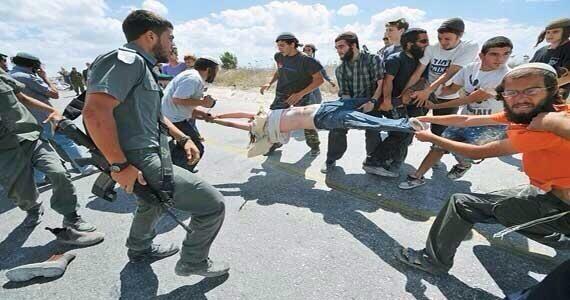 İsrailli Terörist Sivillerin Filistinlilere Yaptığı Zulümler