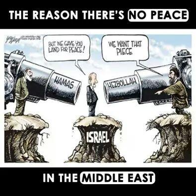 Masum ve Gariban İsrail Ortadoğuda tehdit altında